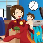 Rodiče jako superhrdinové?